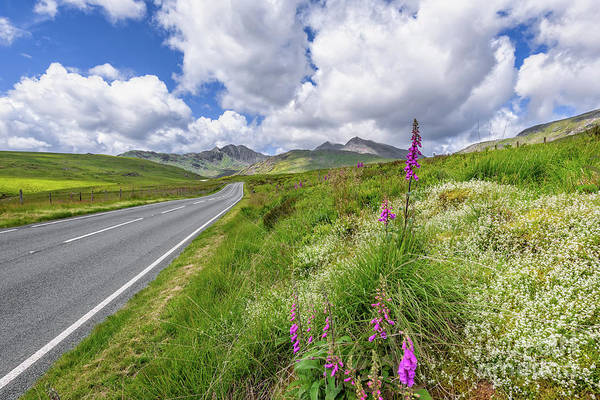 Wall Art - Photograph - Road To Snowdon Mountain by Adrian Evans