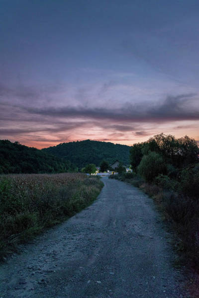 Peac Wall Art - Photograph - Road To Sunset by Yordan Nedialkov