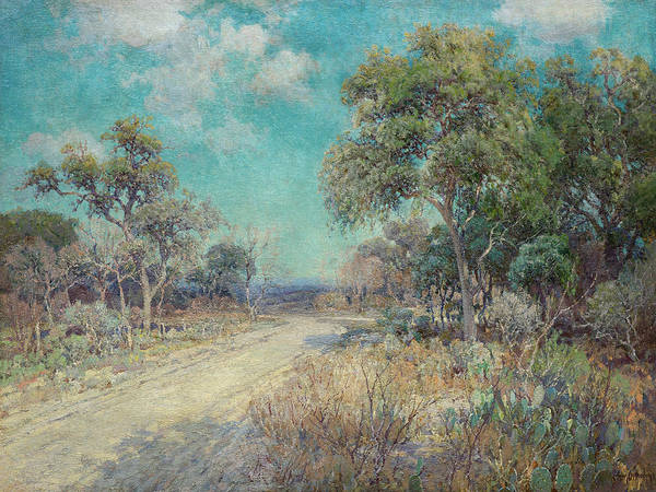 Mother Road Wall Art - Painting - Road To The Hills by Julian Onderdonk