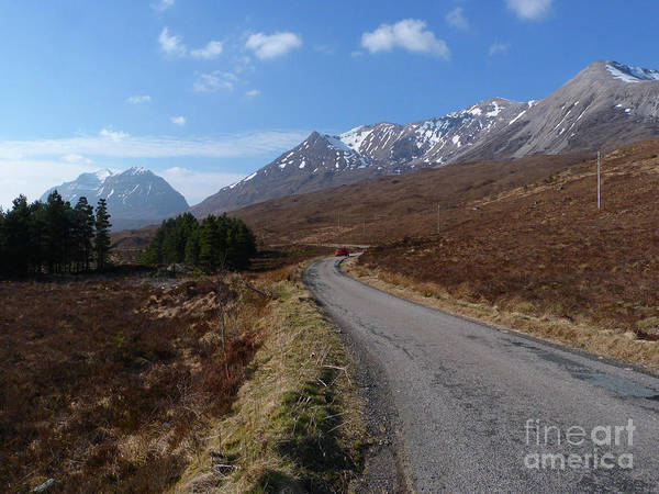 Beinn Eighe Photograph - Road To Torridon by Phil Banks