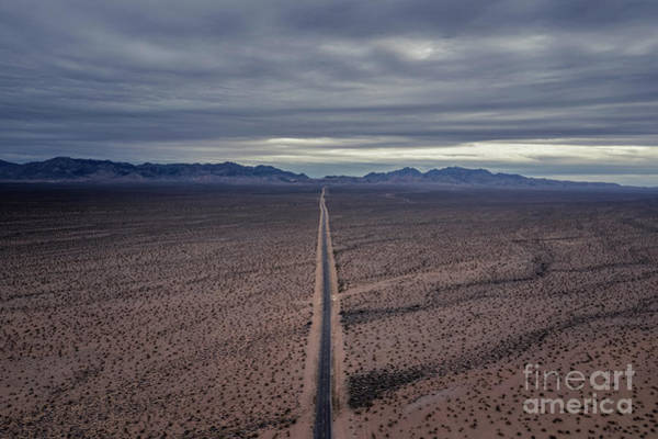 Wall Art - Photograph - Road To Valley Of Fire  by Michael Ver Sprill