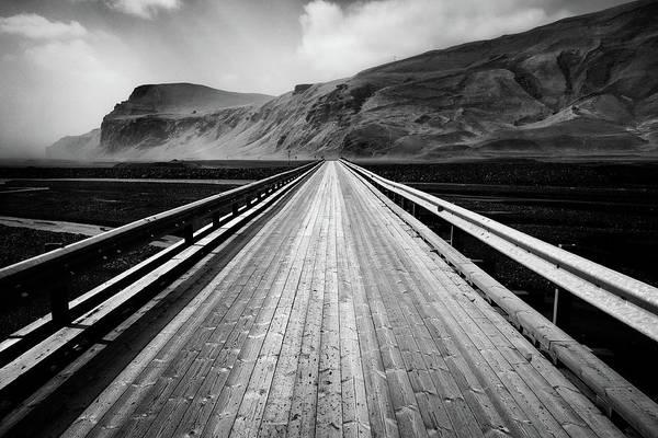 Wall Art - Photograph - Road To Vik by Dave Bowman
