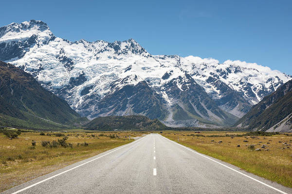 Photograph - Road Trip In The Southern Alps by Racheal Christian