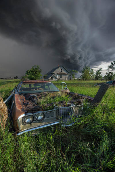 Wall Art - Photograph - Road's End  by Aaron J Groen
