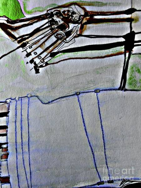 Painting - Roads To Silence-2 by Katerina Stamatelos