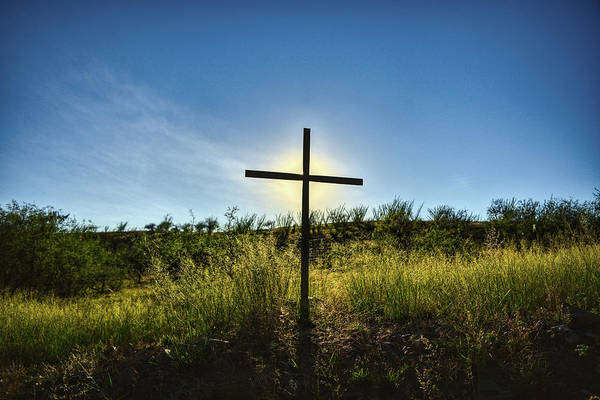 Photograph - Roadside Cross by Chance Kafka