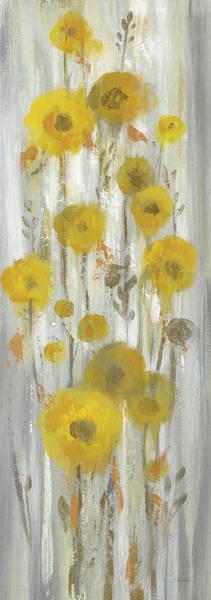 Wall Art - Painting - Roadside Flowers I Crop by Silvia Vassileva
