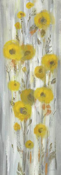 Wall Art - Painting - Roadside Flowers II Crop by Silvia Vassileva