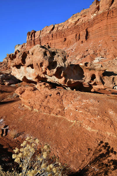 Photograph - Roadside Rocks In Capitol Reef Np by Ray Mathis