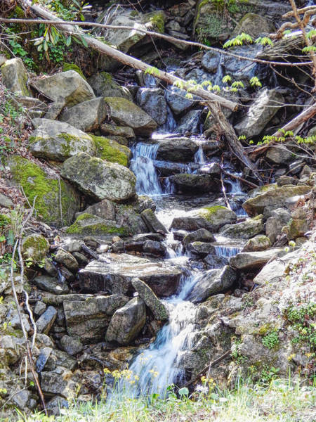 Photograph - Roadside Waterfall by Phil Perkins