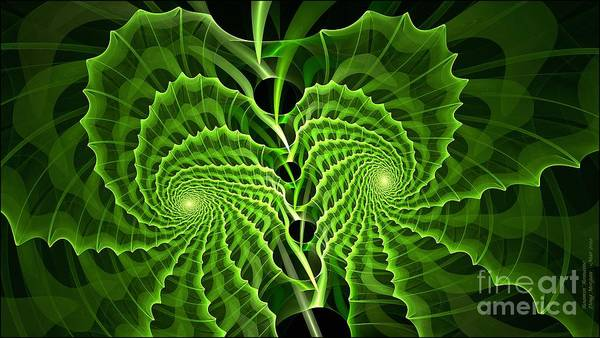 Digital Art - Roamin Romaine by Doug Morgan