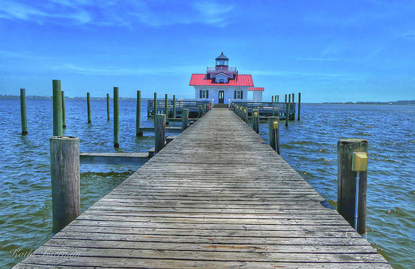 Wall Art - Photograph - Roanoke Marshes Light House by Kathi Isserman