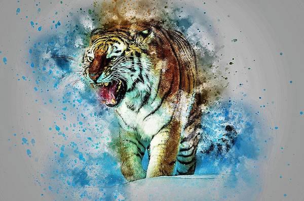 Predator Painting - Roar by ArtMarketJapan