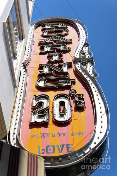 Photograph - Roaring 20s Adult Strip Clubs On Broadway San Francisco R710 by Wingsdomain Art and Photography
