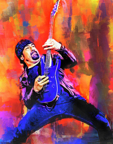 Music Room Mixed Media - Rob Caggiano by Mal Bray