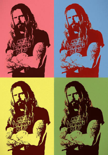Wall Art - Painting - Rob Zombie Pop by Dan Sproul