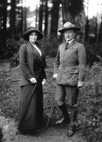 British Armed Forces Photograph - Robert Baden-powell by Topical Press Agency