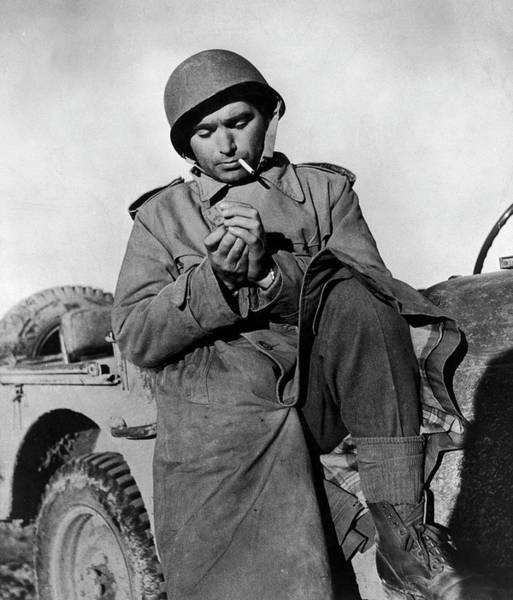 Tunisia Photograph - Robert Capa by Time Life Pictures