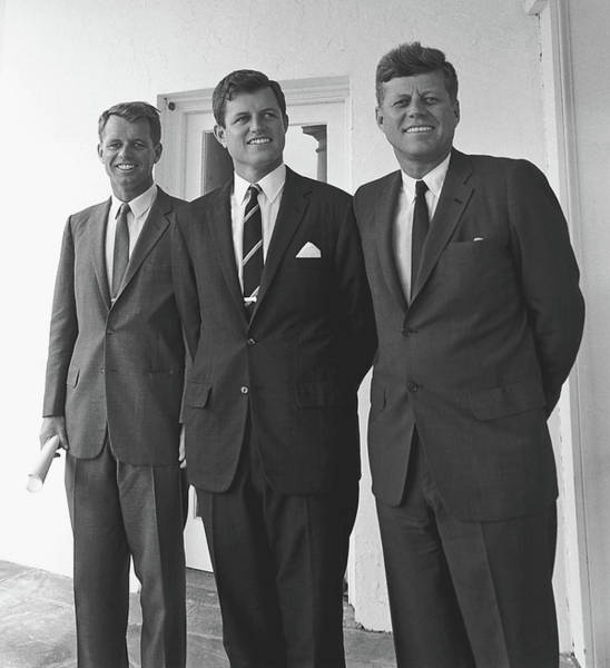 Wall Art - Photograph - Robert, Edward, And John F. Kennedy 1963 by Mountain Dreams