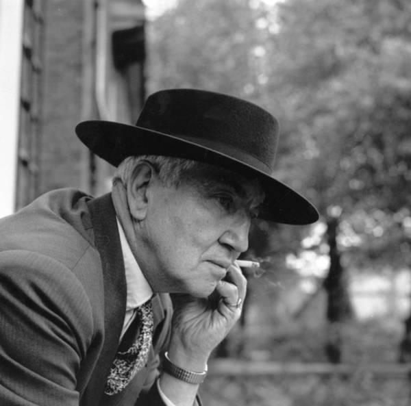 Poet Photograph - Robert Graves by Ronald Dumont