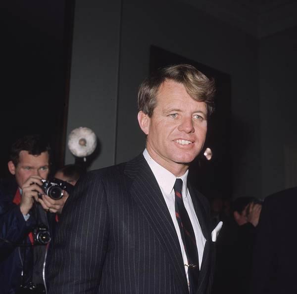 Public Speaker Photograph - Robert Kennedy by George Freston