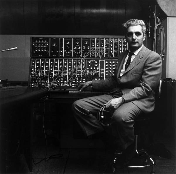 Photograph - Robert Moog by Jack Robinson