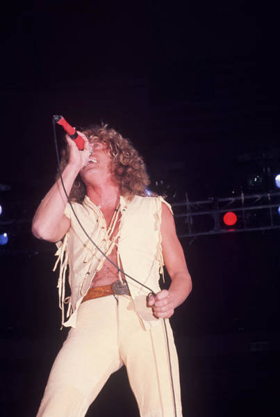 Photograph - Robert Plant by Art Zelin