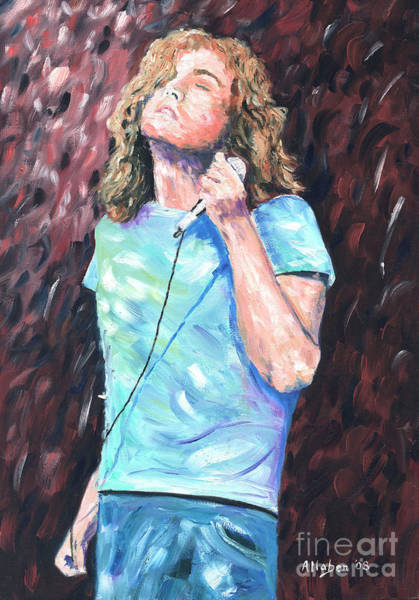 Painting - Robert Plant by Stanton Allaben