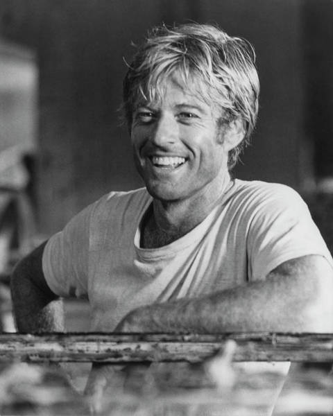 Sex Symbol Photograph - Robert Redford by Hulton Archive