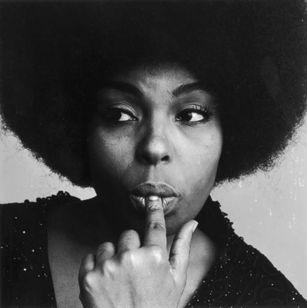 Human Interest Photograph - Roberta Flack by Jack Robinson