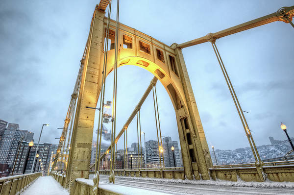 Wall Art - Photograph - Roberto Clemente Bridge by Hdrexposed - Dave Dicello Photography