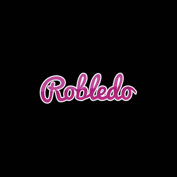 Wall Art - Digital Art - Robledo #robledo by Tinto Designs