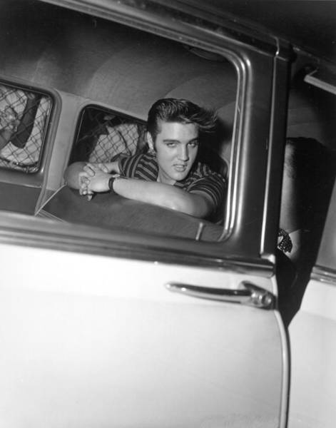 Photograph - Rock And Roll Singer Elvis Presley by Michael Ochs Archives
