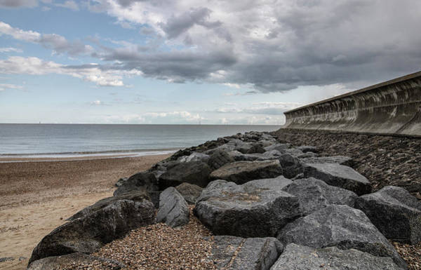 Wall Art - Photograph - Rock And Sea by Martin Newman