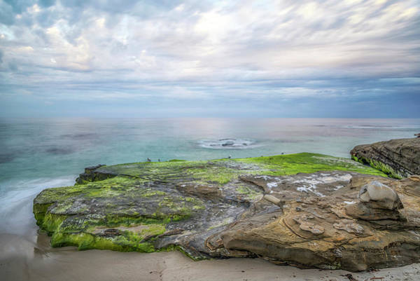 Wall Art - Photograph - Rock And Sea Of Green by Joseph S Giacalone