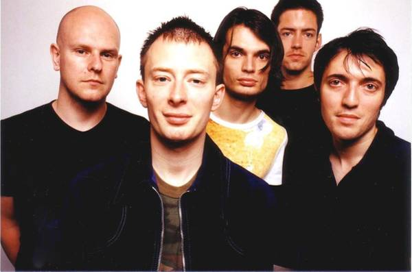 Rock Music Photograph - Rock Band Radiohead by Jim Steinfeldt