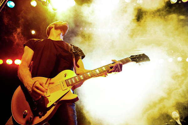 Rock Music Photograph - Rock Concert by Henrik Sorensen