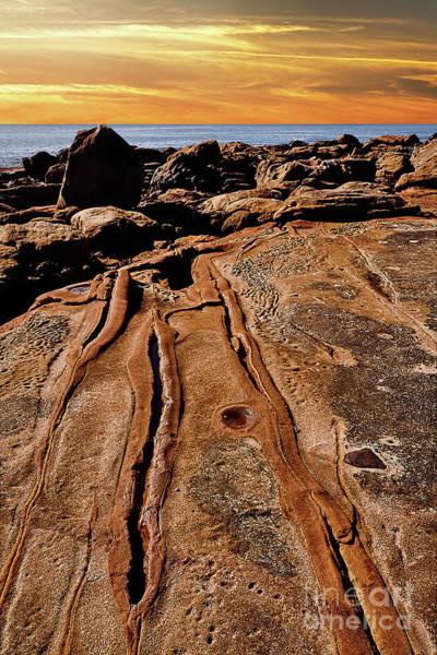 Wall Art - Photograph - Rock Formations At Sunset By Kaye Menner by Kaye Menner