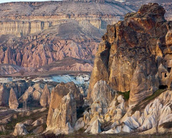Cappadocia Photograph - Rock Formations In Cappadocia, Turkey by Ashok Sinha