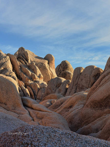 Photograph - Rock Formations - Joshua Tree by Paulette B Wright