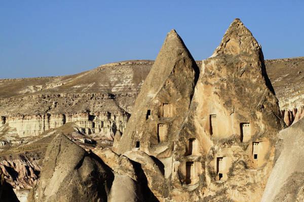 Cappadocia Photograph - Rock Houseschurches In Cappadocia by Wu Swee Ong