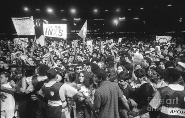 Wall Art - Photograph - Rock In Rio II Concert Crowd by Concert Photos