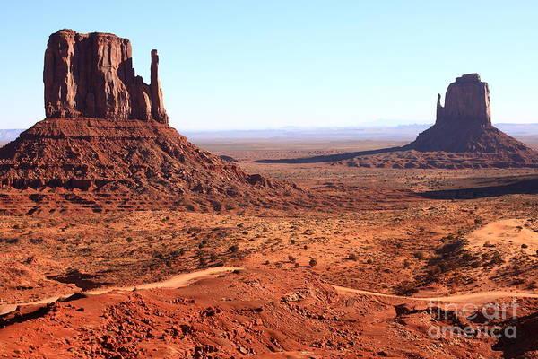Wall Art - Photograph - Rock Monuments  Of Utah Usa Monument by Bestjeroen
