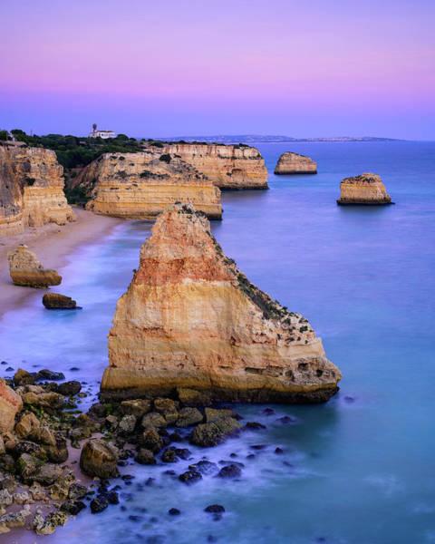 Wall Art - Photograph - Rock Pillars At Sea by Michael Blanchette