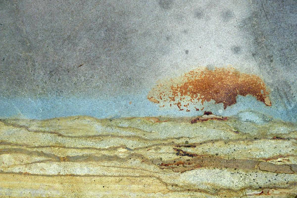 Rock Stain Abstract 1 Art Print