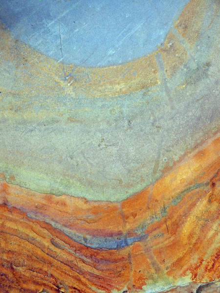 Photograph - Rock Stain Abstract 7 by Duane McCullough