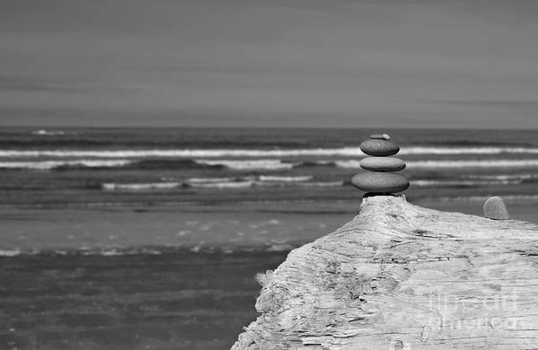 Photograph - Rock Zen Four by Jeni Gray