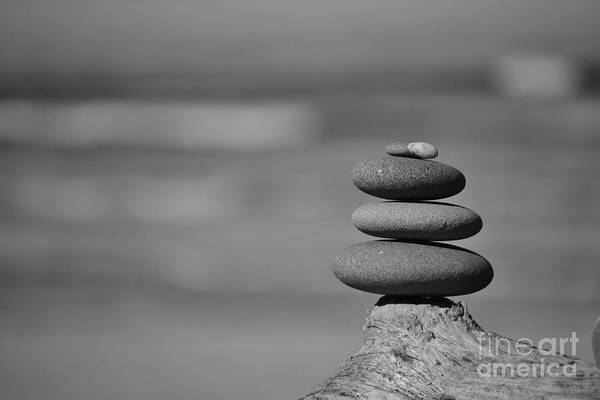 Photograph - Rock Zen 6 by Jeni Gray