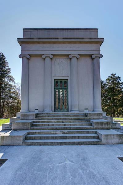 Wall Art - Photograph - Rockefeller Mausoleum by David Pyatt