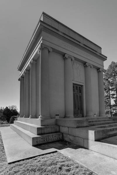 Wall Art - Photograph - Rockefeller Mausoleum Sleepy Hollow by David Pyatt